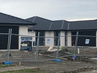 First Waingakau homes almost ready