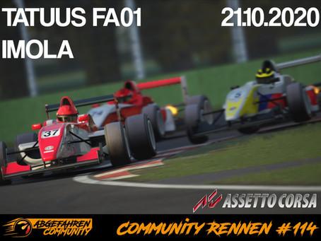 AC-CR 114 | Tatuus FA01 auf Imola