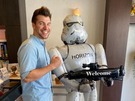 Horizon's New Bodyguard!