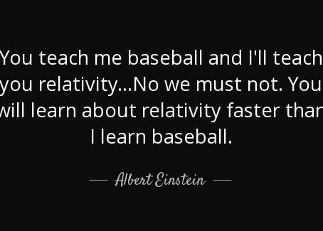 Einstein Baseball