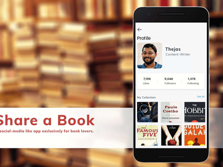Mobile app ideas to create #2: Share a Book