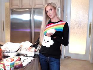 Paris Hilton Debuts a New Cooking Show