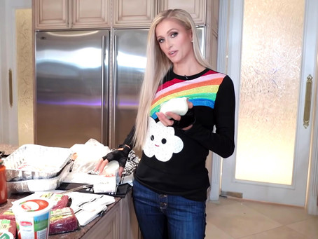 Paris Hilton Debuts a New Cooking Show