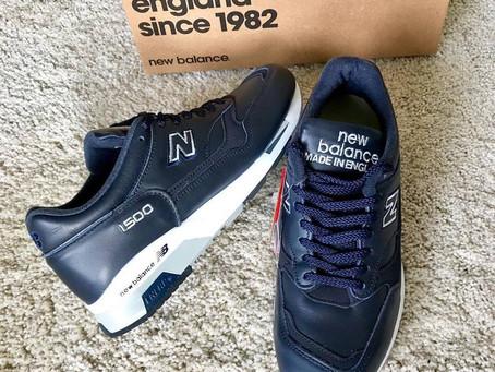NEW BALANCE 1500 の靴磨き プレメンテ