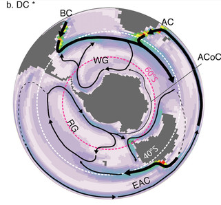 Publication : Effect of the Drake Passage opening one the Eocene oceans
