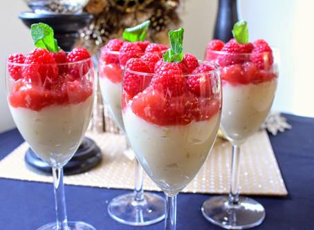Raspberry Lemon Parfait