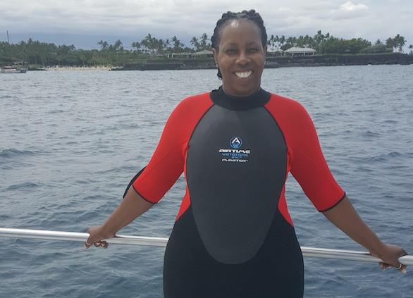 Lisa Robinson in Hawaii
