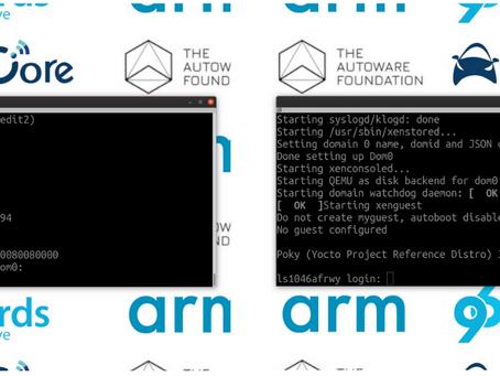 arm-autonomy on Autocore's PCU bring up