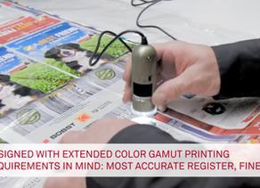 Consistencia total del color en el proceso ampliado de impresión Flexográfica.