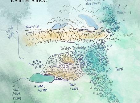 Folded Earth map draft is drafty!