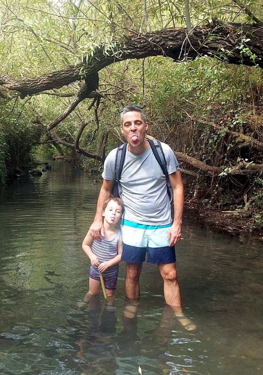 טיול מים עם ילדים במג'רסה