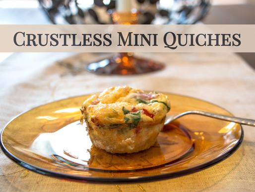 Crustless Mini-Quiches