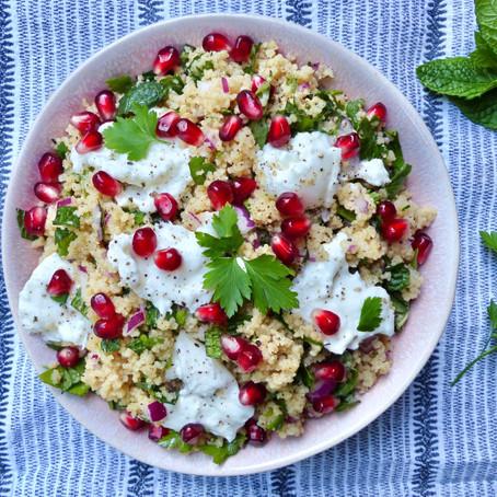 Herb & Garlic Couscous Salad