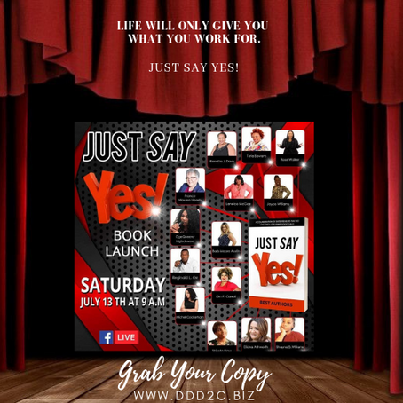 Just Say Yes Book Launch!