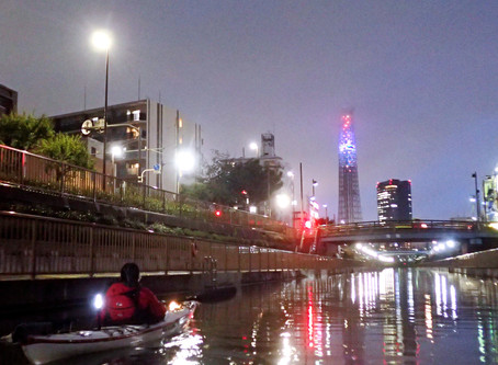 2020/07/13東京水路ナイトパドリング