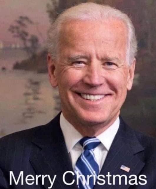 Biden Merry Christmas Easter Meme