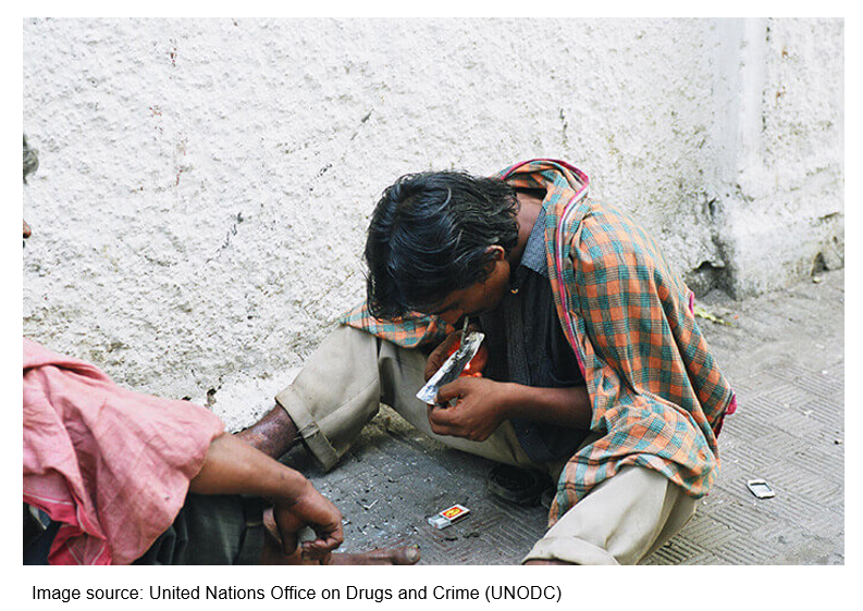 Drug abuse is prevalent across India, both in urban and rural areas