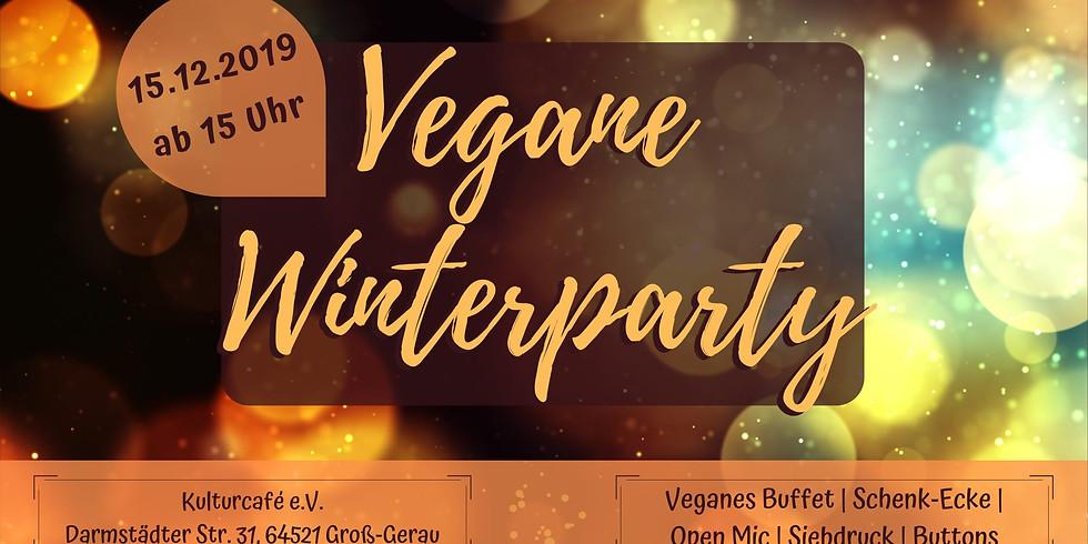 Vegane Winterparty