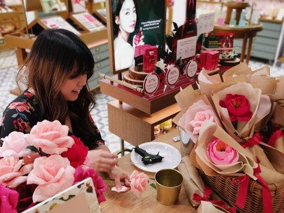 A Paper Florist and Brand Activations - Tips for working with Consumer Brands