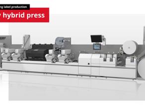 BOBST presenta la nueva impresora híbrida MASTER DM5 en Labelexpo 2019,