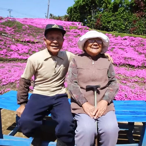 Husband Spends 2 Years Planting Thousands of Flowers for His Blind Wife to Smell