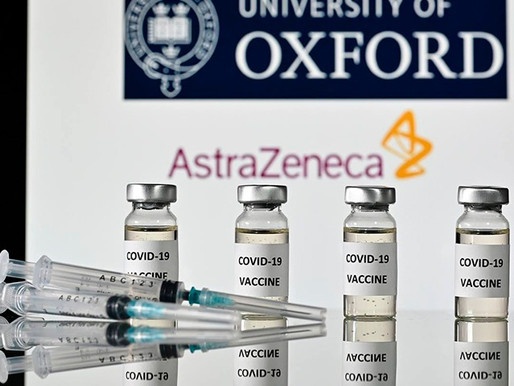 Vacuna contra el Covid-19 de AstraZeneca tiene eficacia del 90%