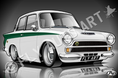 New artwork added!! Ford Lotus Cortina