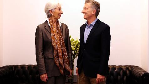 La directora del FMI llega a la Argentina y organizan una manifestación en repudio