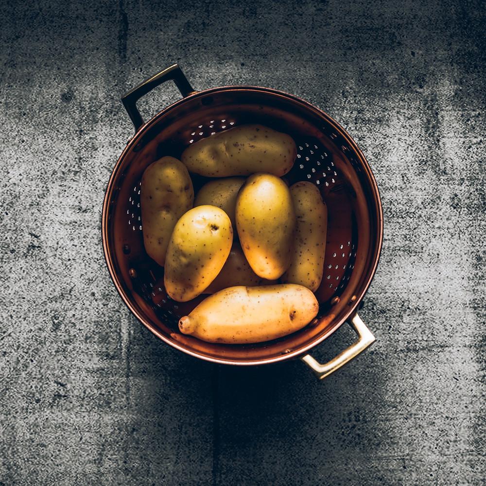 Bulvės, Alfo receptai