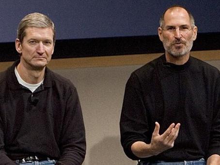 Há exatos nove anos Tim Cook sucedia Steve Jobs como CEO da Apple