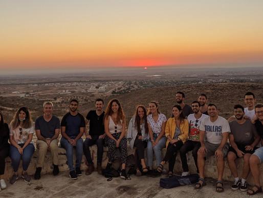 Lab get-together at the Goral Hills