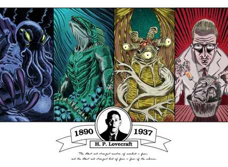 Tributo: 81 anos da morte de H.P. Lovecraft