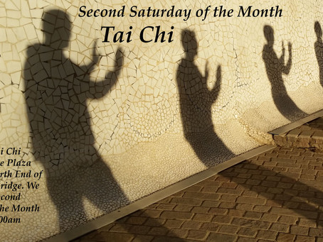 Join us for Second Saturday Tai Chi!