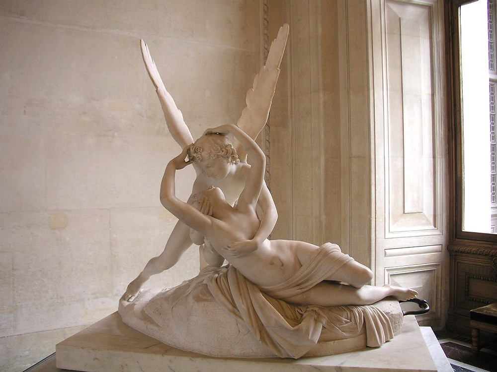 Antonio Canova, Psyche Revived By Cupid's Kiss, 1787