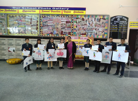 "The times of India ""Painting competition- Colour Splash"""