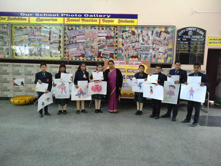 """The times of India """"Painting competition- Colour Splash"""""""