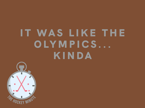 It Was Like The Olympics, Kinda