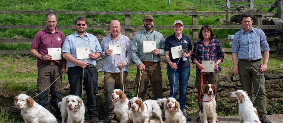 Working Test results June 2nd 2019 Dog Tree Farm