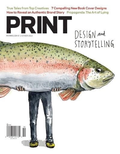 Print Magazine October 2013, Design & sorytelling Issue