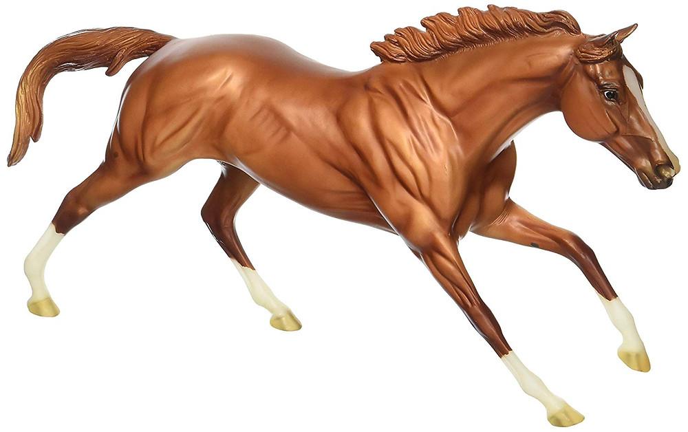 California Chrome racehorse breyer model horse