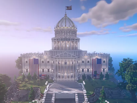 Ahead of the election, practice voting in this Minecraft server