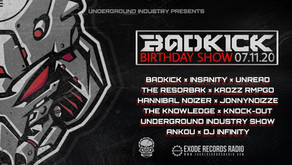Badkick B-day on exoderecordsradio.com