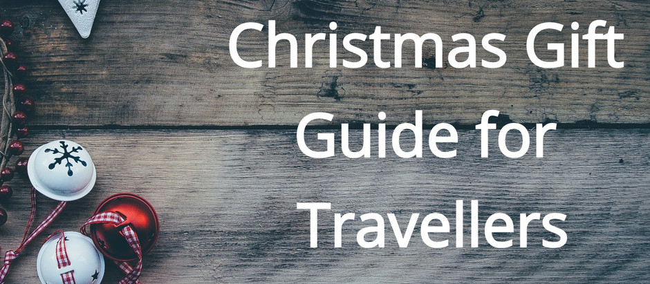 Christmas Gift Guide for Travellers