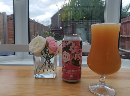 Blog #94. 71 Brewing Co. - Fruit Shute Amplitude. My choice for International Beer Day!