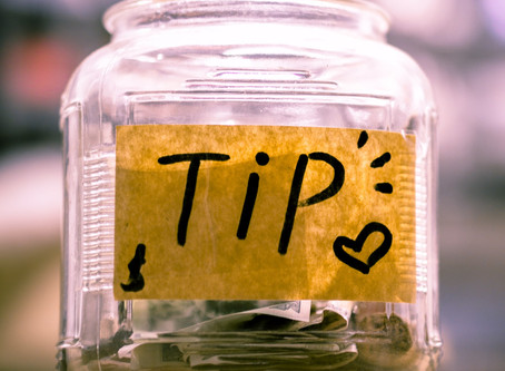 Taxpayers must report tip income to the IRS, including cash tips
