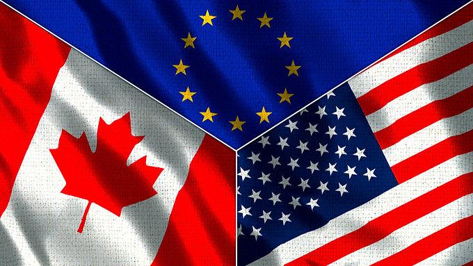 Makroekonomska analiza SAD-a, Kanade i Europe