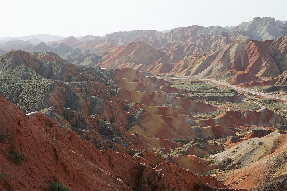 Visiter parc Zhangye Danxia Chine
