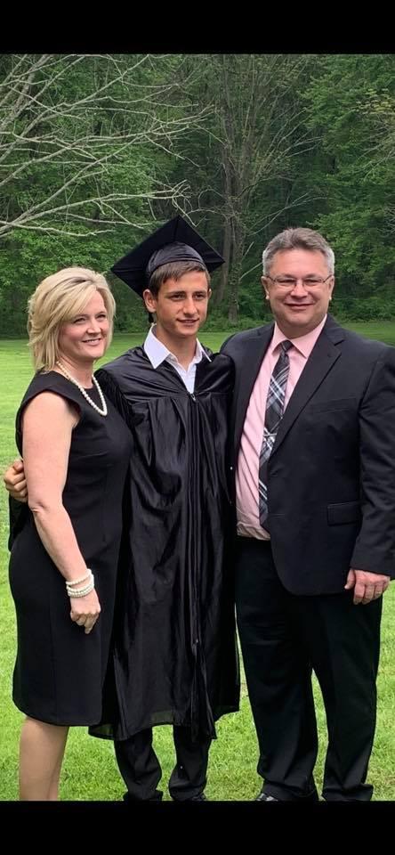 Our son Vlad, Homegrown Homeschool Co-Op Graduate Class of 2019