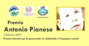 Premio ANTONIO PIANESE   II^ edizione