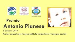 Premio ANTONIO PIANESE | II^ edizione